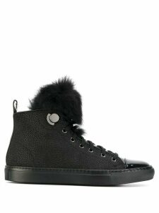 Moncler high top sneakers - Black