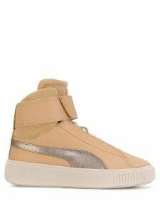 Puma hi-top sneakers - Neutrals
