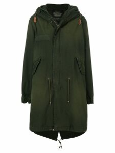 Mr & Mrs Italy hooded parka - Green