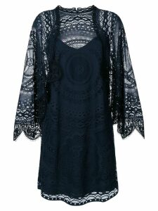 Chloé lace shift dress - Blue