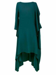 Sies Marjan sleeveless draped asymmetric dress - Green