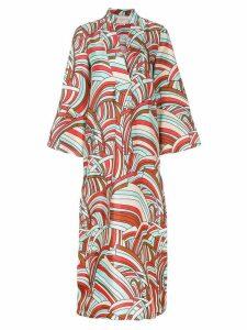 La Doublej Onde kaftan dress - Multicolour