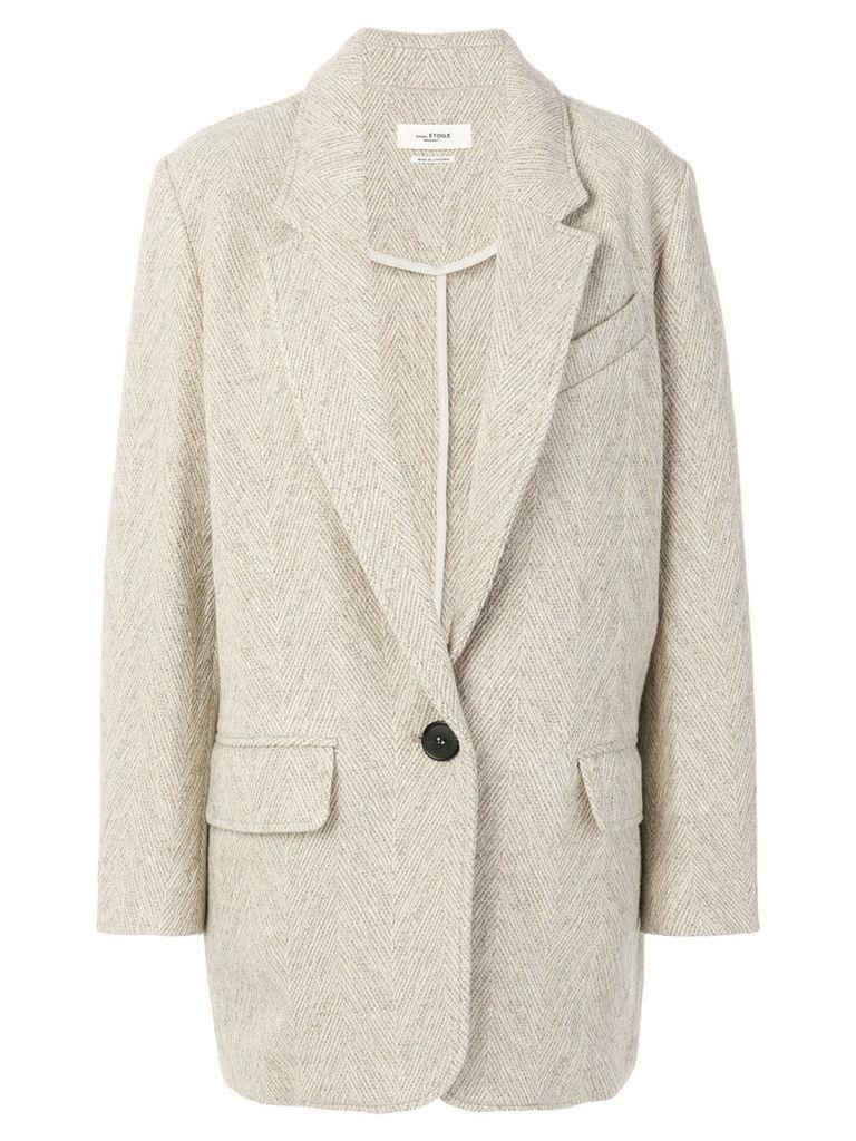 Isabel Marant Étoile textured jacket - Nude & Neutrals