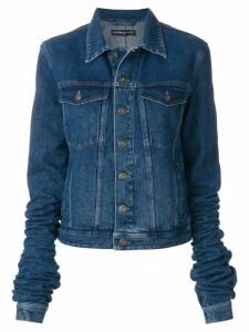 Y/Project denim jacket with exaggerated sleeves - Blue