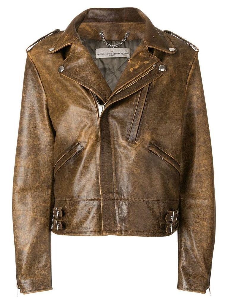 Golden Goose Deluxe Brand Chiodo jacket - Brown