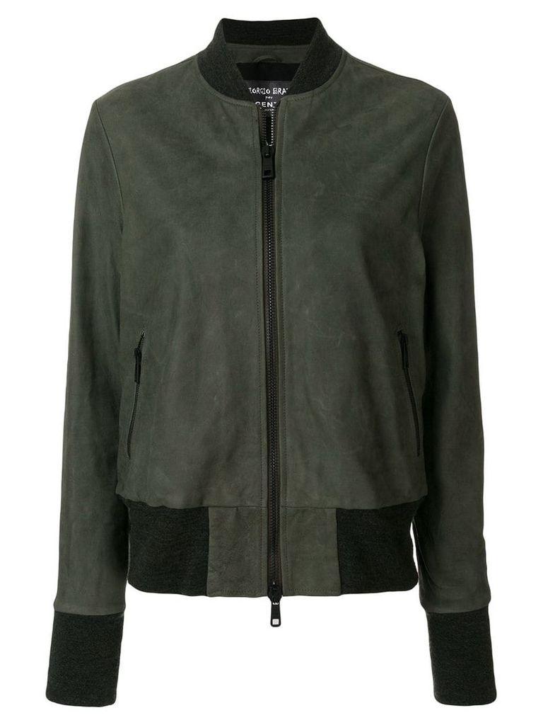 Giorgio Brato zipped jacket - Green