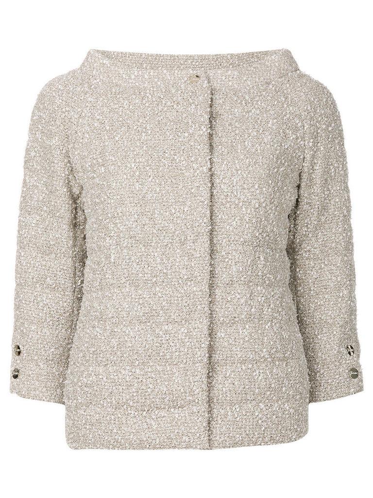 Herno woven jacket - Nude & Neutrals