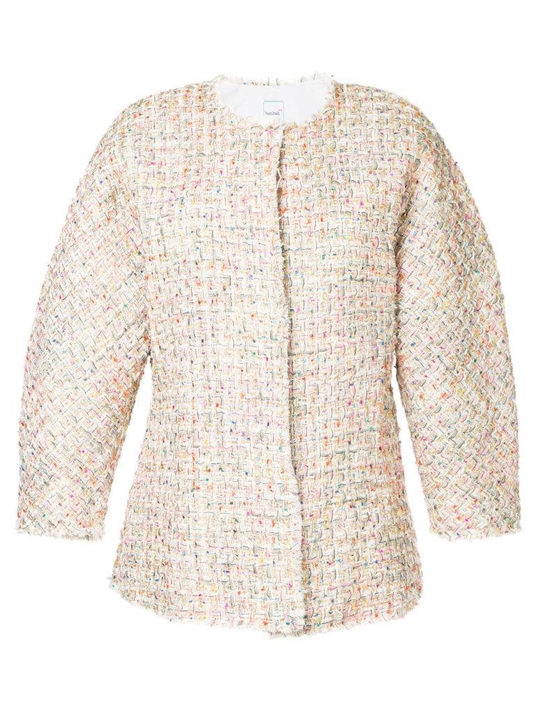 Bambah Theo tweed jacket - White