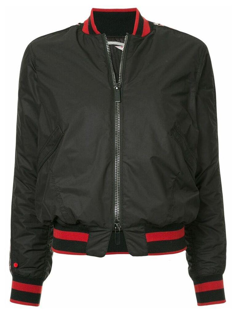 Kru bomber jacket - Black