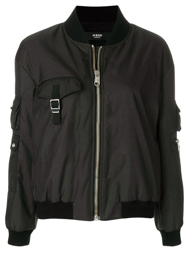 Versus bomber jacket - Black