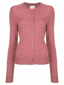 Barrie round neck cardigan - Pink