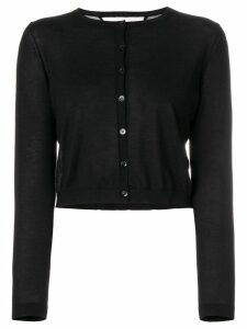 Red Valentino fitted button-down cardigan - Black