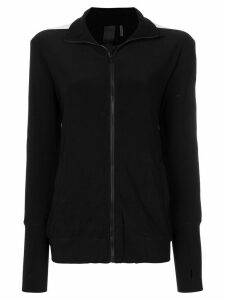 Norma Kamali zipped cardigan - Black