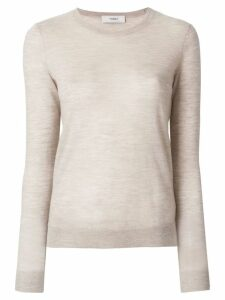 Pringle of Scotland lightweight round neck jumper - NEUTRALS