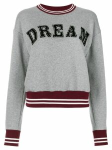 Nº21 Dream lettered jumper - Grey