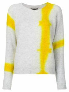 Suzusan tie dye knit jumper - Grey