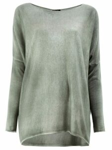 Avant Toi faded effect jumper - Grey
