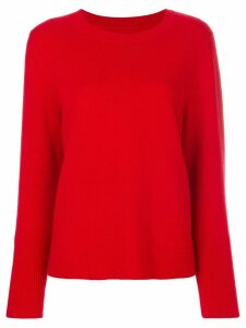 Chinti & Parker draped hem sweater - Red