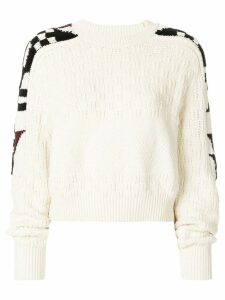 Isabel Marant Laytonn origami sleeve sweater - NEUTRALS