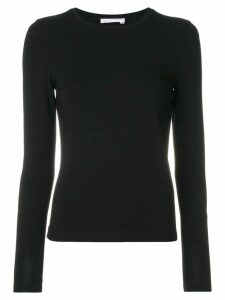 Le Tricot Perugia round neck sweater - Black