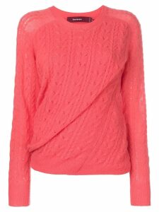 Sies Marjan twist effect jumper - Coral