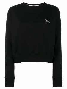 Calvin Klein 205W39nyc crewneck sweatshirt with embroidery - Black