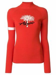 1017 ALYX 9SM Palm Tree sweater - Red