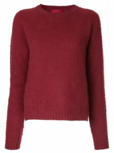 The Gigi round-neck sweater - Red