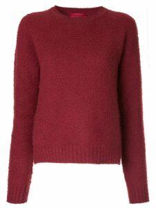 The Gigi round-neck sweater - Red