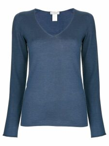 Le Tricot Perugia v-neck sweater - Blue