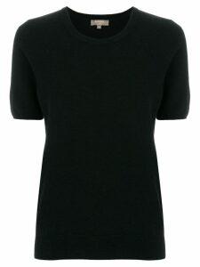 N.Peal round neck T-shirt - Black