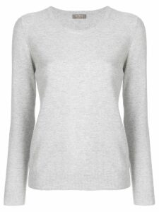 N.Peal round neck sweater - Grey