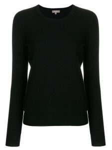 N.Peal round neck sweater - Black