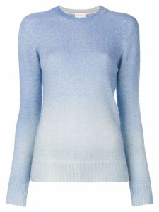 Agnona long sleeved knit top - Blue