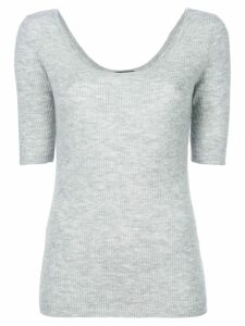 Cashmere In Love cashmere Carol tee - Grey
