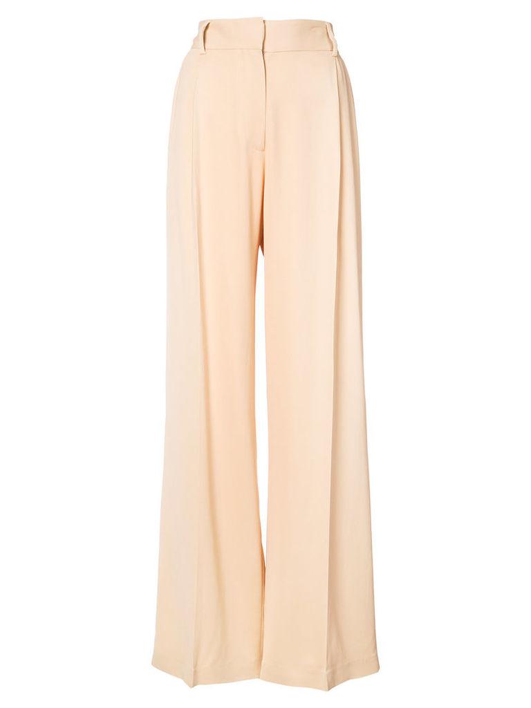 Ryan Roche palazzo trousers - Nude & Neutrals
