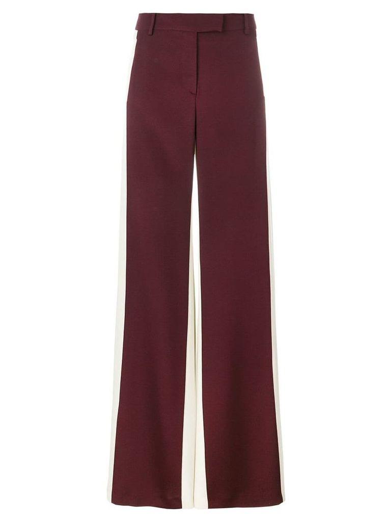 Valentino colour block palazzo pants - Red