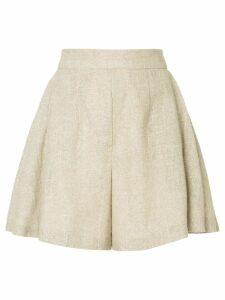Bambah sparkle culotte shorts - Brown