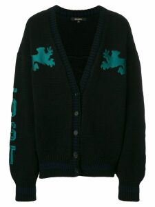 Yeezy Graphic Cardigan - Blue