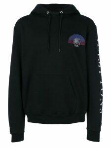 RtA Hampton felpa hoodie - Black