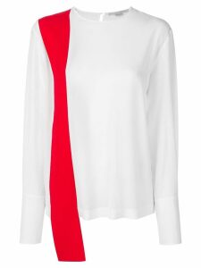 Stella McCartney contrasting top - White