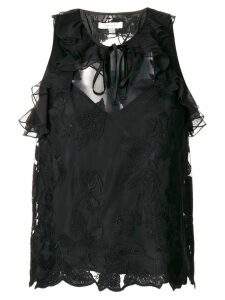 Three Floor Florent sleeveless top - Black