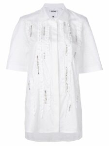 Koché embroidered blouse - White