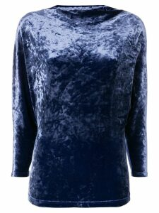 Plein Sud dolman sleeves blouse - Blue
