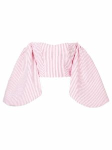 Bambah striped Globo blouse - Pink