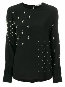 Stella McCartney pearl embellished blouse - Black