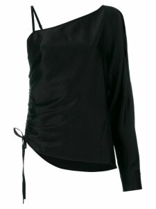 T By Alexander Wang asymmetric blouse - Black