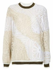 Martha Medeiros Marta lace jumper - Multicolour