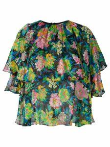 MSGM floral print blouse - Multicolour