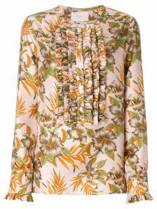 La Doublej Polinesia tuxedo shirt - PINK